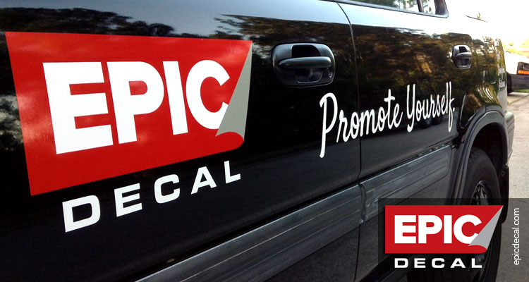 Vinyl Cut decals for your fleet